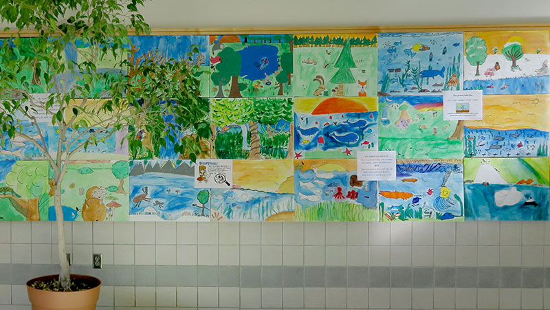Artwork at the Argenziano School
