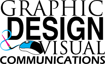 graphic design and visual communication logo