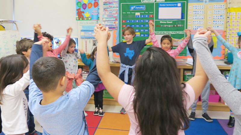 Kindergarten students