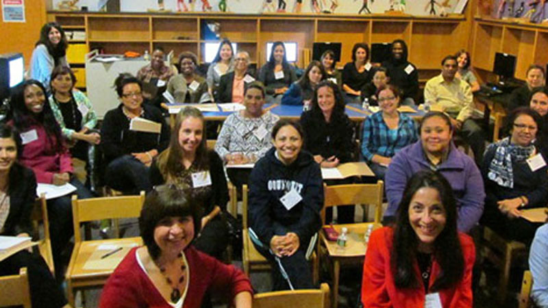 SPS Staff in a Classroom