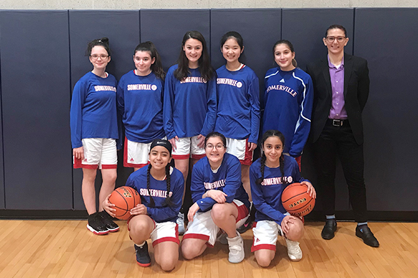 Interscholastic Girls 2020 Basketball Team