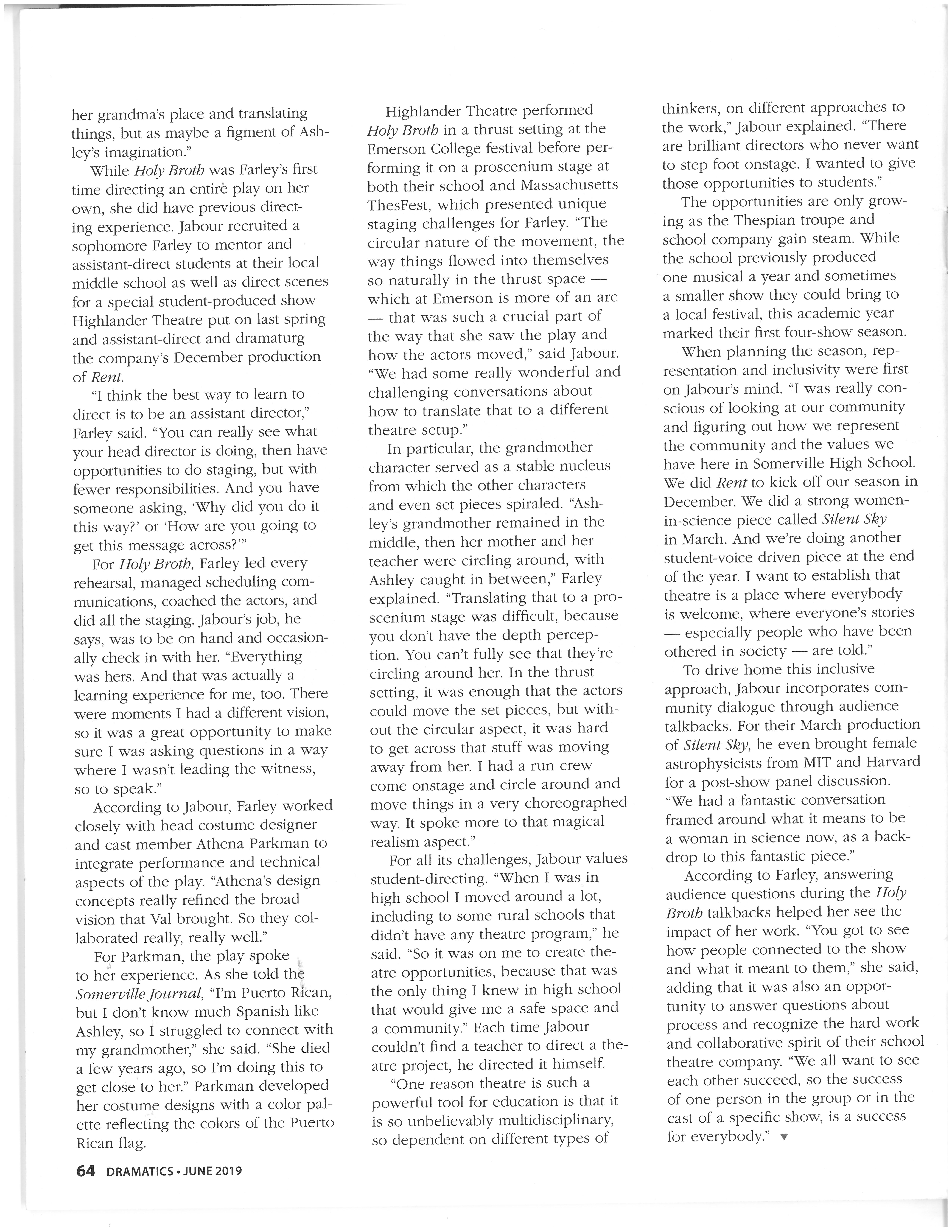 Holy Broth article, page 2