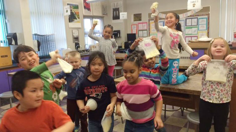 WSNS students in after school program