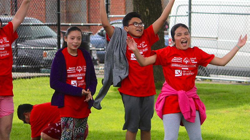 Students Participate in Special Olympics